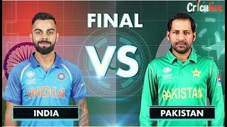 Live India Vs Pakistan Champions Trophy Final 2017  Full Highlights