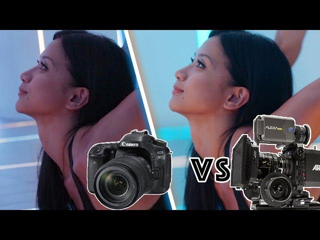 Canon 80D DSLR vs Hollywood Movie Camera Arri Alexa - YouTube