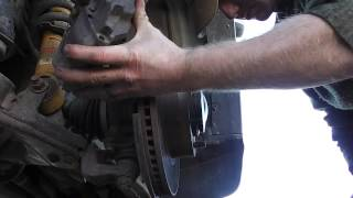 toyota tundra front axle replacement tutorial part 1