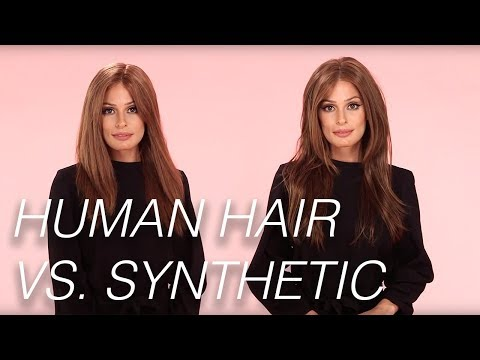 Human Hair Or Synthetic Hair? | Wigs 101