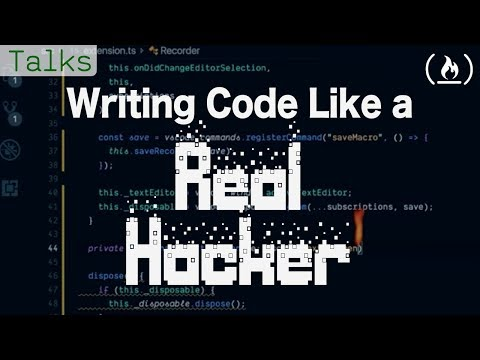 Writing Code like a Real Hacker (VS Code Macro Extension)