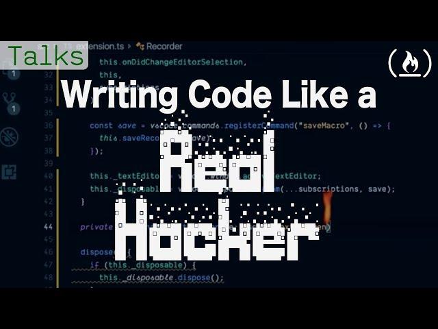 Writing Code like a Real Hacker (VS Code Macro Extension)