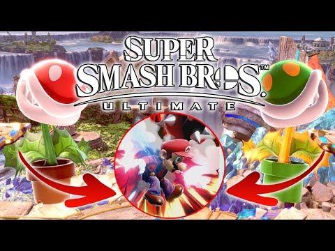 ¡TEAM PLANTA PIRAÑA! | Super Smash Bros. Ultimate (Switch) | Chequio & Borjamin thumbnail