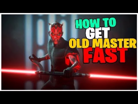 How To Get Darth Maul Old Master Style Fast In Battlefront 2