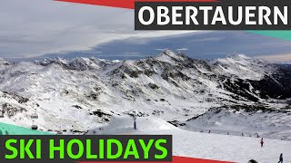 Obertauern Ski Holidays, Resort in Austrian Alps, Obertauern Hotels 1080p HD