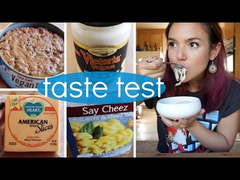 TASTE TEST // Vegan Tuna, Fettuccine Alfredo, Mac & Cheese