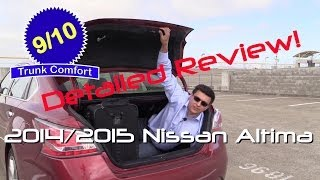 2014 / 2015 Nissan Altima Detailed Review and Road Test
