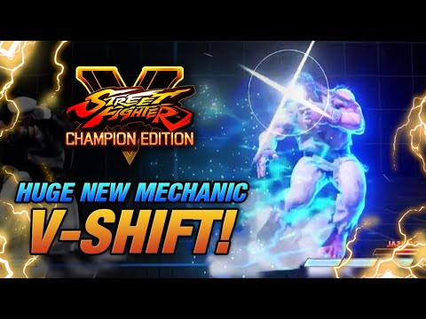V-SHIFT IS INCREDIBLE! Brand new mechanic for Street Fighter 5! Winter update reaction! |