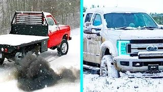 Diesel Engines Cold Starting Up and Sounding 2019 | WINTER IS TRUCK