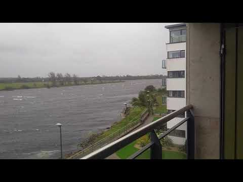 Storm Watch 2017 - Athlone, Ireland 'Ophelia'