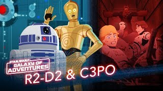 Star Wars Kids - Galaxy of Adventures | R2-D2 og C3PO