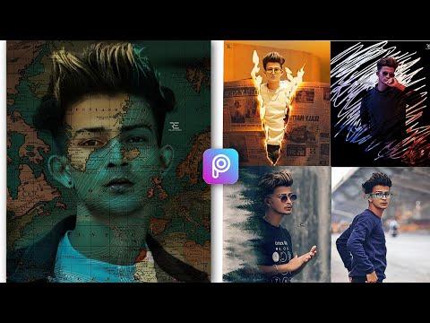 5 (Five) Creative Photo Editing PicsArt Tautorial    PicsArt Five Creative Photo Editing Trick