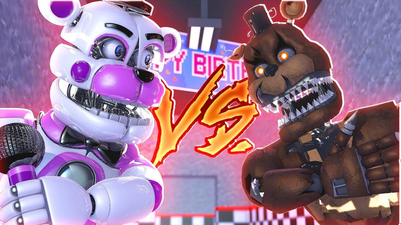 Skachat Unlocking Ignited Freddy Fnaf Roblox Freddy Fazbear S Ultimate Custom Night Mods Funtime Freddy