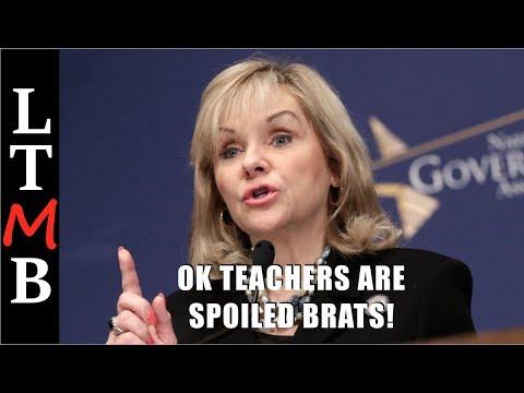 Governor Mary Fallin: Oklahoma Teachers Are Spoiled Brats