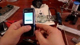 Nokia 5130 не работает дисплей, меняем дисплей.(Nokia 5130-c2 замена дисплея.Бывает так что дисплей отказывает работать в результате попадения влаги или после..., 2013-12-11T22:46:43.000Z)