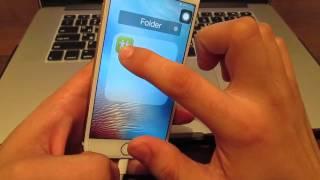 Как скрыть приложения на iPhone???