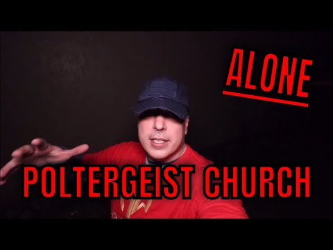(30 Minute ALONE Challenge) ABANDONED POLTERGEIST CHURCH. THIS MAY BE THE LAST TIME WE GO HERE
