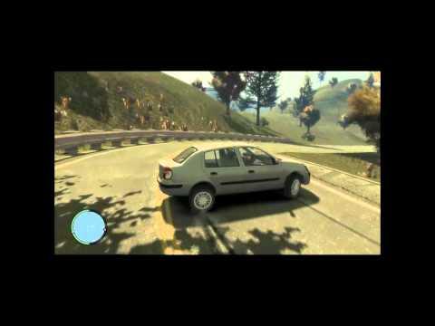 GTA IV Erzurum Mod Araç ve Yol tanıtımı