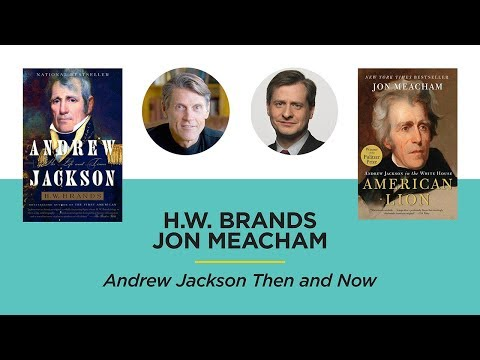 Andrew Jackson Then And Now
