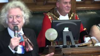 Noddy Holder receives the freedom of the borough in Walsall