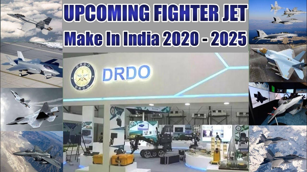 India's UpComing Future Fighter Jet of Indian Air Force, Make In India, Latest Defence News, DR