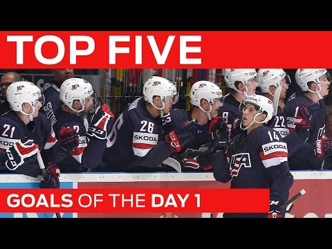 Top 5 Goals | Day 1 | #IIHFWorlds 2015