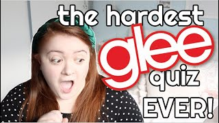 testing my glee knowledge... it didn't go well
