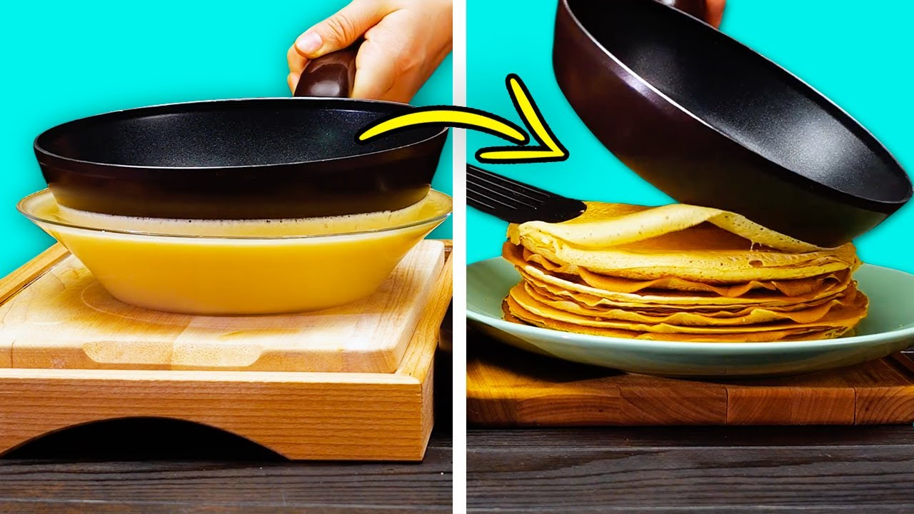 Супер-лайфхаки: ЛЕГКИЕ РЕЦЕПТЫ ОТ ЛУЧШИХ ШЕФ-ПОВАРОВ    Простые и быстрые идеи для кухни