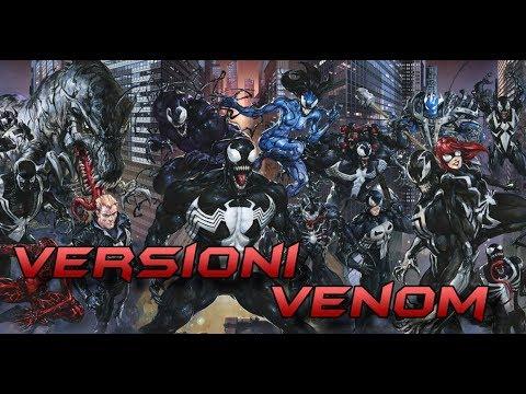 LE VERSIONI ALTERNATIVE DI VENOM -MARVEL COMICS- PARTE 2