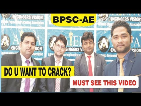 HOW TO CRACK BPSC-AE PT EXAM ?  Must watch this video | AIEFA-PATNA TEAM
