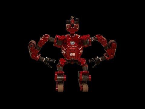 Carnegie Mellon's CHIMP robot is ready for the DARPA Robotics Challenge Finals