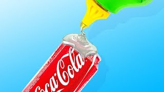 32 LIFE HACKS WITH CANS AND BOTTLES