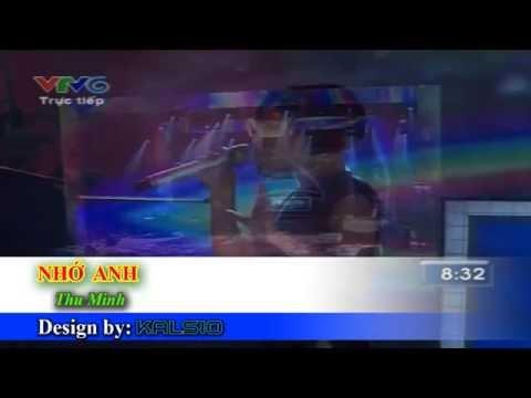 [Karaoke HD] NHỚ ANH - Thu Minh