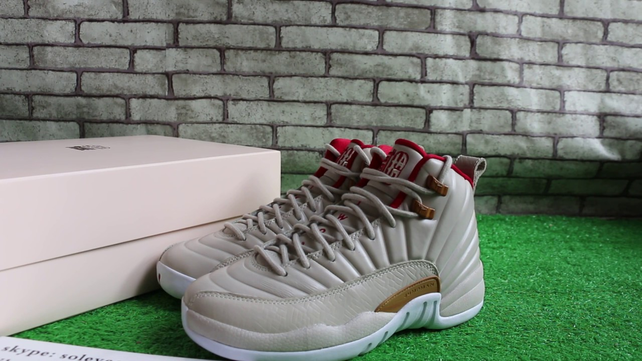 newest 84012 ff5b3 Air Jordan 12 CNY GS Chinese New Year Review. soleyeezy sneakers