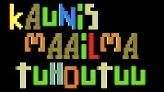 Cosmolamu by PWP (1996 PC/DOS 64k intro)