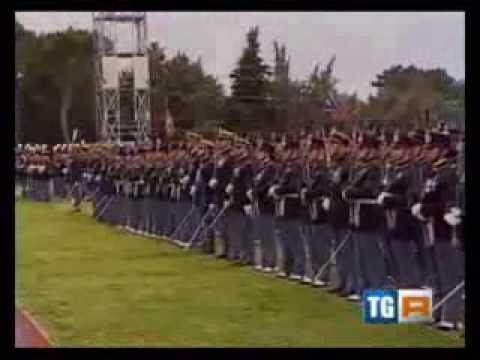 Viterbo cerimonia di giuramento per gli Allievi Marescialli del 15 Corso  YouTube