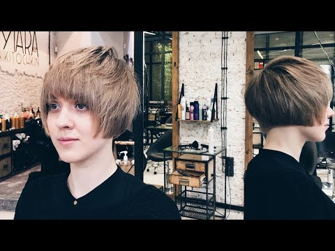 how to cut perfect bob with round fringe