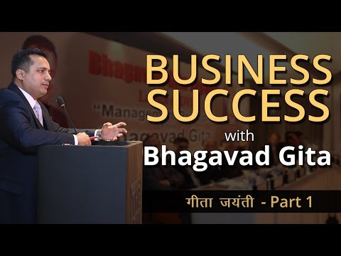 Business Success With Bhagavad Gita Motivation On Leadership Management For Corporate