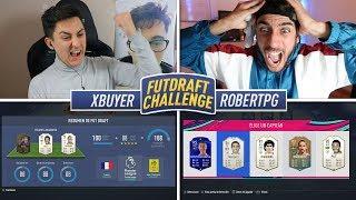 ROBERT PG vs XBUYER ¡EL REY DEL FUT DRAFT!