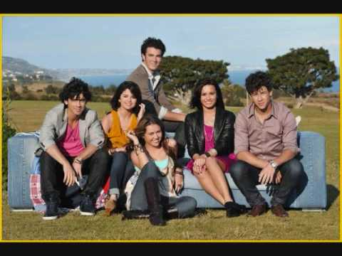 Send It On- Disney Stars (JB, Miley, Demi, Selena) FULL VERSION + mp3