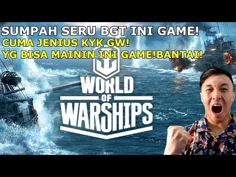 BERASA LAGI PERANG DUNIA WOY! REAL BGT! - World Of Warships