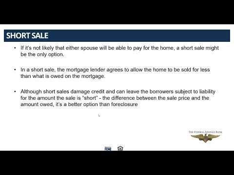 Understanding Divorce Related Mortgage Issues