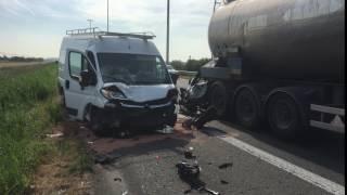 Ongeval E40 in Jabbeke