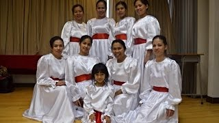 tambourine dancers solid rock foursquare gospel church hk
