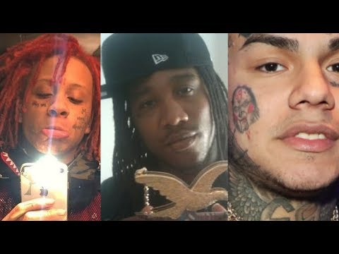 Trippie Redd IN NEW YORK AFTER 6IX9INE BAN, Frenchie of BSM Cosigning an Taking Sides?