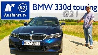 2019 BMW 330d xDrive Touring M Sport (G21) - Kaufberatung, Test deutsch, Review, Fahrbericht