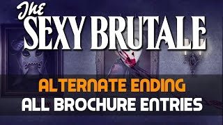 THE SEXY BRUTALE Alternate Ending and All Brochure Entries