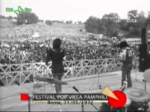 VILLA PAMPHILI Festival pop Roma 1972