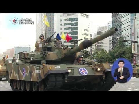 KBS - South Korea 65th Armed Forces Day 2013 - Military Assets At Seoul Part 1 of 2 [1080p]