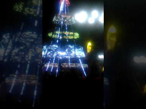 1st time ever in town of New Washington, Province of aklan Xmas tree lighting(2)